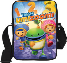 Hot Sale Free shipping Shoulder Messenger Bags Crossbody Kids Bags Cartoon Character Team Umizoomi Casual Bags(China)