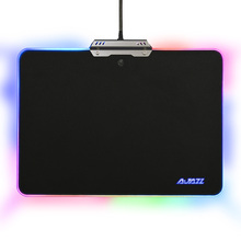 Ajazz MP02 AJPad USB Wired Metal LED RGB Backlight Mouse Pad with Touch Control(China)
