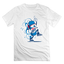 men clothes MAD LIT MASCOT graphic tees screw neck o neck Tee-shirt(China)