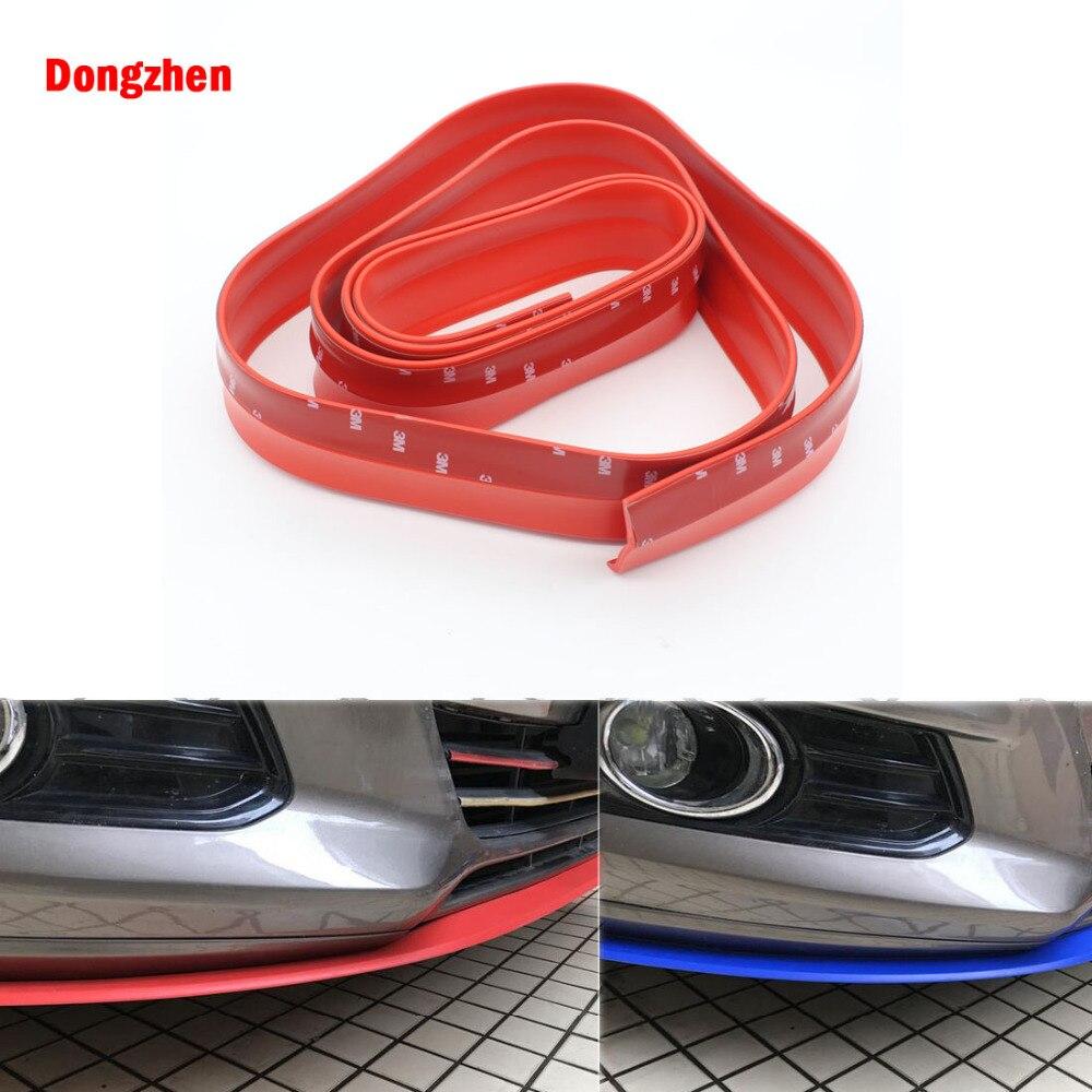 Dongzhen автомобиль-Стайлинг Универсальный резиновые наклейки защиты бампер предотвращения столкновений внешние аксессуары Передняя бампер(China)