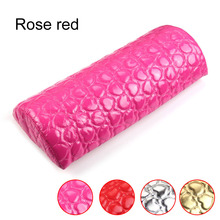 Hot Sales 1 PC. Manicure cushion, Soft hand cushion for rest Instruments column design of semicircular nails Nail Art Hand Cushi