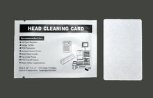 Free Shipping - 10 pcs MSR Head Cleaner Cleaning Card for Magnetic Stripe Reader card printer clean card CR80(China)