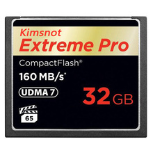 Kimsnot Compact Flash Card 16GB 32GB 64GB 128GB CompactFlash Memory Card CF Card UDMA 7 160MB/s 1067x For DSLR Camera Full HD 3D
