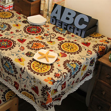 JJ235 60*60CM Vintage Lace Table Cloths Square Tablecloths Mat Cover Fabric tableware Kitchen Dining Bar Accessories Supplies