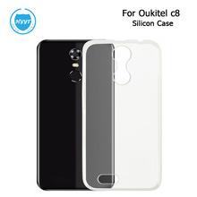 HYYT For Oukitel c8 C8 4G Silicone Case Soft Back Soft TPU Cover Replacement For Oukitel c8 5.5 Inch Phone Protective Case(China)
