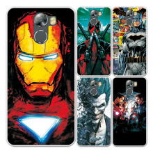 For Wileyfox Swift 2 plus Silicon Case Cover Charming Marvel Avengers Captain America Iron man For wileyfox swift 2 Phone Capa(China)