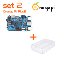 Orange Pi Plus 2 SET2: Orange Pi Plus 2+ Transparent Acrylic Case Support Android, Ubuntu, Debian Beyond Raspberry