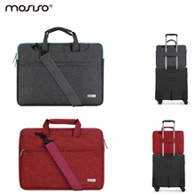 Mosiso Laptop Shoulder Strap Bag with Belt 11.6 13.3 15.6 inch for MacBook Air Pro 11 13 15 Acer Asus Notebook Handbag Case