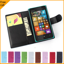 Luxury Wallet Leather Flip Case Cover For Nokia Microsoft Lumia 532 Dual SIM Cell Phone Case Back Cover With Card Holder Stand