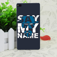 C1314 Say My Name Transparent Hard Thin Case Skin Cover For Huawei P 6 7 8 9 Lite Plus Honor 6 7 4C 4X G7