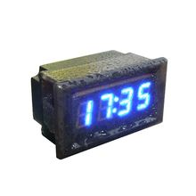 2016 Universal Waterproof Car Motorcycle Auto Accessory DC 12V/24V Dashboard Digital LED Display Clock &Wholesale(China)