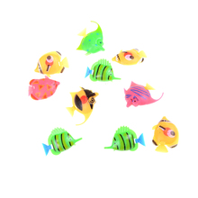 12pcs Assorted Small Size Ocean Pet Figures Party Toy Gift Sea Life Model Toys PVC Pool Fish Toy Early Education Marine Animals