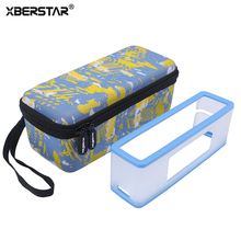 XBERSTAR Portable Carrying Case Travel Storage Box+Soft TPU Cover for Bose Soundlink Mini / Mini 2 Bluetooth Speaker