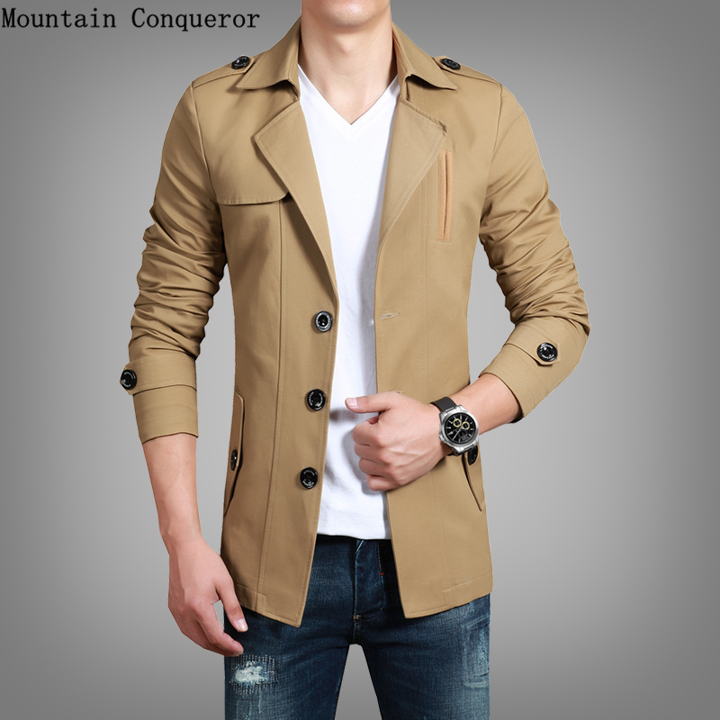 Mountain Conqueror Large Size Cotton Jacket Men Sp...