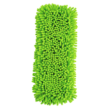 New Extendable Microfibre Mop Cleaner Sweeper Wet Dry - Green(China)