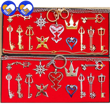 A Toy A Dream Action Figures 13pcs/set Kingdom Hearts II KEY BLADE Necklace Pendant+Keyblade+Keychain Z314