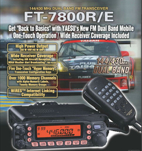 YAESU FT 7800R long range Base Radio