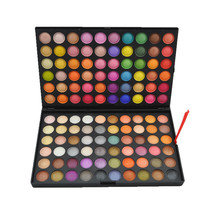 120 Color Eye Shadow Palette Cosmetics Factory Price shimmer and matte eyeshadow pallete 7 Style Color
