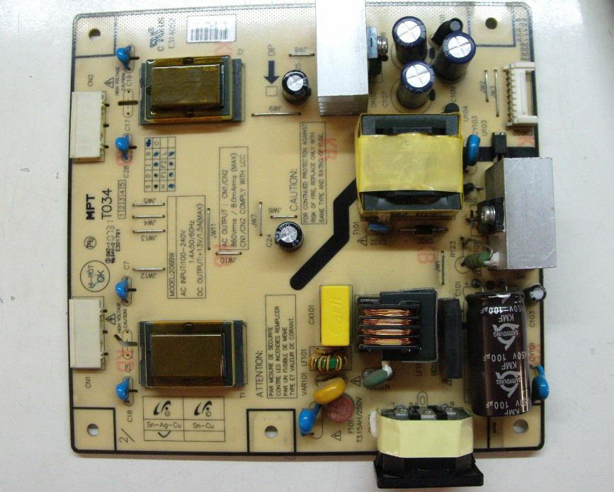 Free Shipping&gt; G22W 223BW 226BW 205BW 206BW 206BW E301791 MPT T034 Power Board-Original 100% Tested Working<br><br>Aliexpress