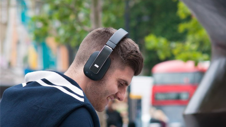 August EP750 Wireless Bluetooth Headphones with ANC