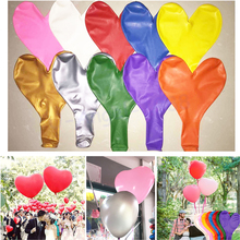 1pcs 36 inch more high quality super large heart-shaped balloon love wedding pictures to decorate the valentine's