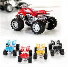 1PCS Baby Boys Toy Pull Back Car Beach Four-wheel Motorcycle Model Baby Kids Children Toys
