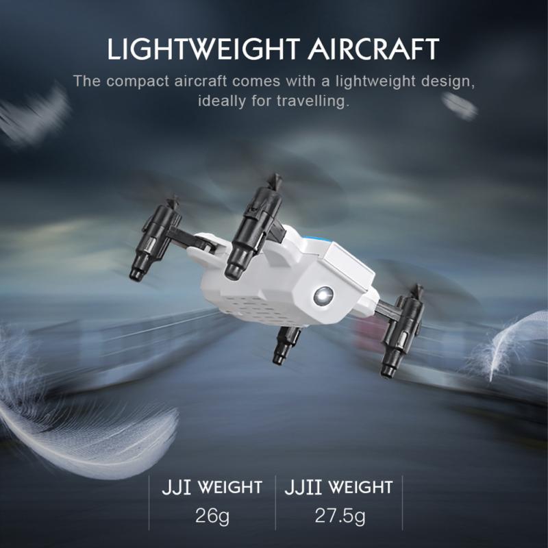 JJR/C H345 JJI JJII Mini 2.4G 4CH 6 Axis Headless Mode Foldable Arm Double RC Drone Quadcopter Christmas Gift