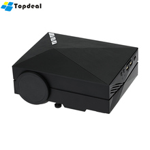 GM60A LED Home Theater Mini Projector 1000 lumens Upgrade Version GM60 800 x 480 Native Resolution Mini HD Video Beamer 1080P