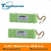 2PCS High Quality 14.4V 3000mAh Ni-MH Rechargeable Battery For Samsung NAVIBOT VCR8875 14.4 Volt Free Shipping