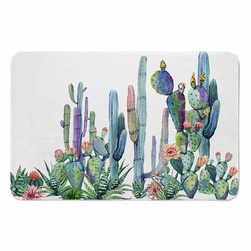 detail feedback questions about tropical plants magic door entrancedetail feedback questions about tropical plants magic door entrance mats indoor cactus printed floor mat for kitchen non slip carpet doormat rug for living