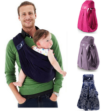 2017 Most Popular BabaSling Baby Carrier/Baby Sling/Baby Backpack Carrier/High Quality Organic Cotton + Sponge Baby Suspenders(China)
