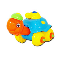 Removable class screw nut car models baby educational toys disassembly Turtle Car Design Educational toys for children Vee(China)