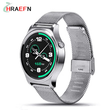 GW01 Smart Watch MTK2502 Bluetooth Heart Rate Monitor Smartwatch Clock Full IPS Screen Anti-lost Supporting Android iOS System(China)