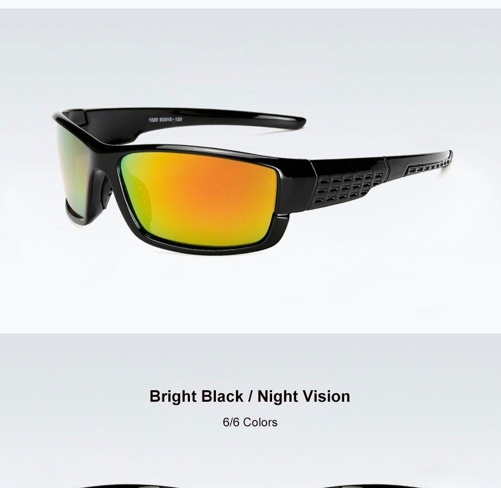 VEGA Eyewear Best Women Men Sports Sunglasses Polarized Outdoor Sports Glasses for Bike Fishing Running Sport Eyewear 206 (12)
