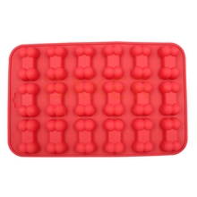 DIY Silicone Dog Bones Cake Mold Chocolate Cookies Mold Home DIY Cake Baking Decorating Tools Bakeware CDSM-637(China)