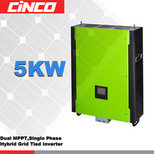Infinisolar Hybrid inverter grid tied & energy storage,5KW power inverter charge 48V solar battery for home standby power(China)