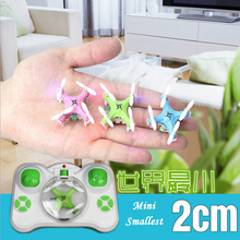 Most popular mini four axis aircraft RC Helicopter remote control aircraft flyer children's toys 2.4G RC Drone