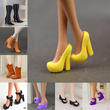 CXZYKING 5PCS Fashion Styles Barbie Doll Shoes High Heel Sandals Shoes for Barbie Dolls Accessories Toys
