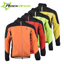 ROCKBROS Cycling Jersey Long Sleeve Breathable UV Protect Clothing Windproof Mountain Road Bike Riding Running Outer Wear M6035