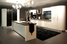 High gloss lacquer design kitchen cabinet K013