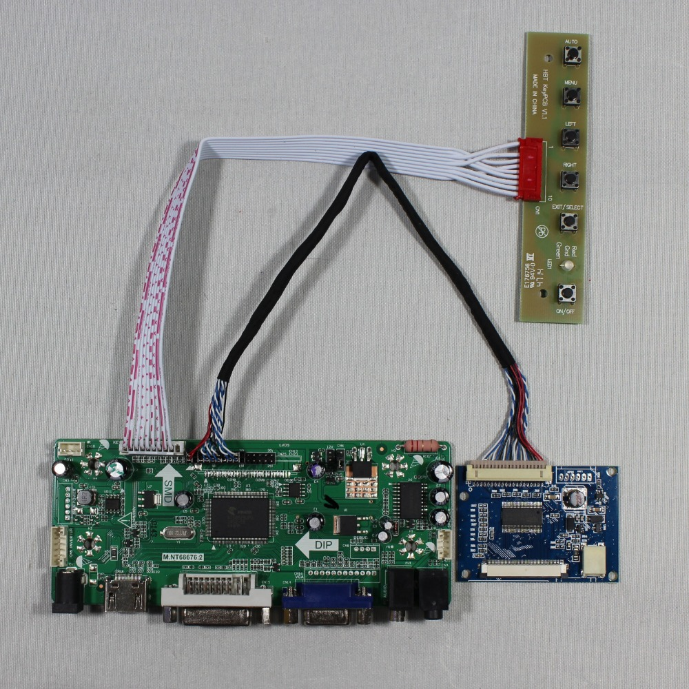 HDMI VGA DVI Audio lcd Controller board work for 8inch 800x600 EJ080NA 05A LCD<br>
