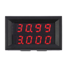 Digital mini voltmeter voltage meter lcd Voltmeter Ammeter DC Voltage Current Meter voltimetro charger doctor voltmetre(China)