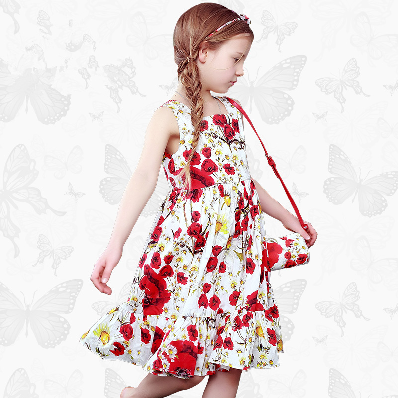 1 Girls Ortensia Dress with Handmade Dragonfly 2017 Brand Princess Dress Long Sleeve Robe Fille Clothes Kids Dresses 24<br>