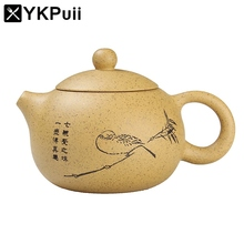 Elegant 290ML Handmade Clay yixing Teapot Chinese Tea Set Kung Fu Tea Pots Kettle With Exquisite Gift Box Home Drinkware