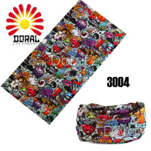 2017 Popular Kids  Multifunctional Seamless Tubular Bandana 25*48cm Anime Bandanas Tube Scarf gift for Baby Headband