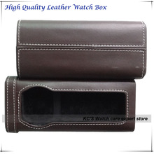 2014 New Quality One Brand Watch Leather Watch Box Locker  Storage Box Christmas Birthday Gift Box GC01-PH-1040BR