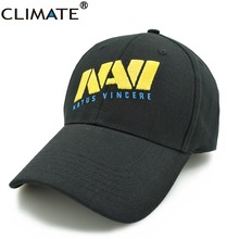 CLIMATE Game DOTA 2 WOT SC2 World Champion Team Ukraine Navi Natus Vincere Team Puppey Dendi Logo Caps Hat Adult Men Women Fans(China)