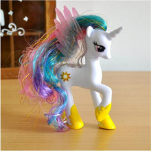 Pet Shop 14 CM Kawaii Pony Princess Girls Unicorn Pvc Doll Anime Movie Action Figure Kids Toys Cartoon Fans Collection Toys