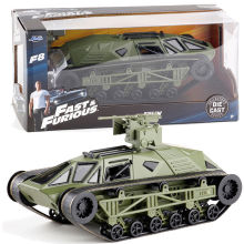 Brand New JADA 1/24 Scale Car Toys Fast & Furious 8 Tej's Ripsaw Tank Diecast Metal Car Model Toy For Gift/Kids/Collection(China)