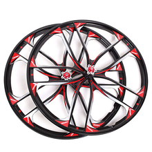 26 Inch Magnesium Alloy Bicycle Wheels X6  Lightweight Bike Sport Wheels (Applied For 7/8/9/10 Speed)